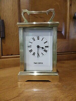 French Carriage Clock Retailed By Mappin & Webb London Old Shop Stock Condition.