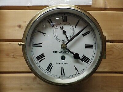 Fusee ships Clock By Thomas Armstrong Of Liverpool Fully Restored 1870s