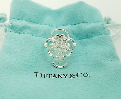 Tiffany & Co. Sterling Silver Paloma Picasso Goldoni Quadruplo Ring Band Size 6