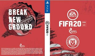 Fifa 20 Hamilton Academical Cover for PS4 Playstation 4 Game Sleeve Print New