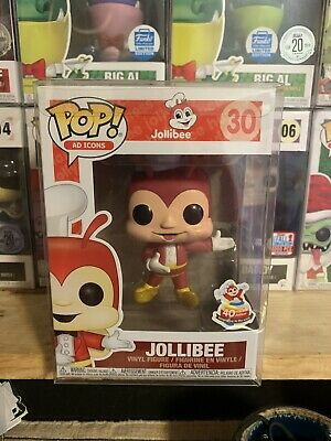 Funko Pop! Jollibee 30 Ad Icons 40th Anniversary Brand New! Shipped w/ Protector