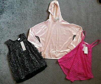 Girls Bundle 3 Tops Age 10-12 Years All Brand New With Tags