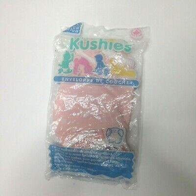 Kushies Newborn Diaper Wrap Up to 22 pounds Pink New Sealed