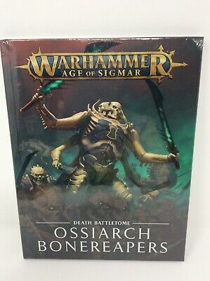 Battletome Ossiarch Bonereapers Warhammer Age of Sigmar NIB Free Shipping