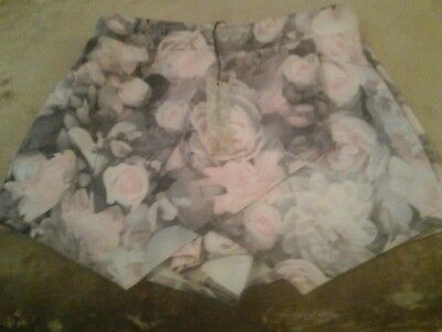 Summer Skirt/Shorts Floral 12 - 13 Years New