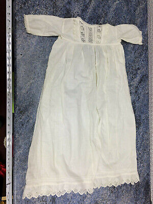 Vintage Christening Gown Outfit, Off White/Ivory, Baby, Child, Infant, Baptism