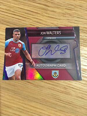Burnley Jon Walters Autograph Topps Match Attax Ultimate Trading Card