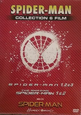 2 COF+7 dvd SPIDER-MAN COLLECTION 1-2-3-AMAZING 1-2 HOME COMING+FAR FROM HOME