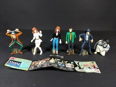 Gashapon lote figuras Lupin the Third (3rd)