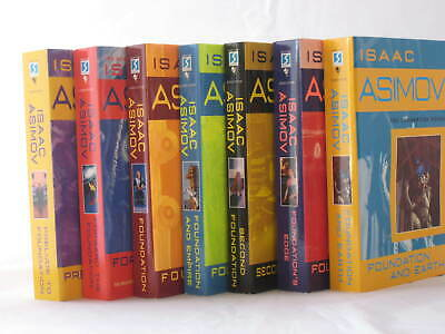 Foundation Series by Isaac Asimov (Complete 7-Book Set, Mass Market Paperback)