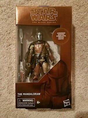"The Mandalorian Carbonized Star Wars The Black Series Target Exclusive 6"" Figure"