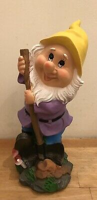 Latex Mould for making this Digging Gnome