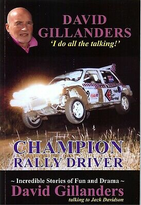 David Gillanders 6R4 Rally Book