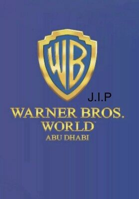Entertainer Dubai / Abu Dhabi - Warner Brothers World Theme Park BOGOF Voucher