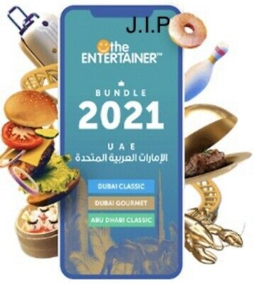 Entertainer Dubai + Body + Hotels 2020 - 7 Day Rental *BRAND NEW*