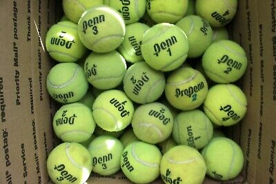45 Used Tennis Balls From Outdoor Courts. Good Condition. Used Few Times.