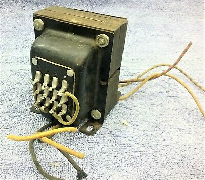 Vintage Thordarson Multi-Match Driver Transformer T-20D84    20 Watts
