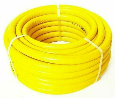 FIRE FIGHTING REEL YELLOW HOSE PIPE PUMP 20mm 3/4 x 50m COIL SAFETY Australian