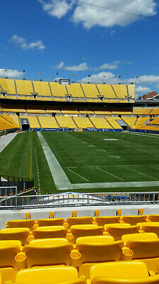 2 lower level Pitt Steelers vs Cle Browns tickets -section 145 -12/`1
