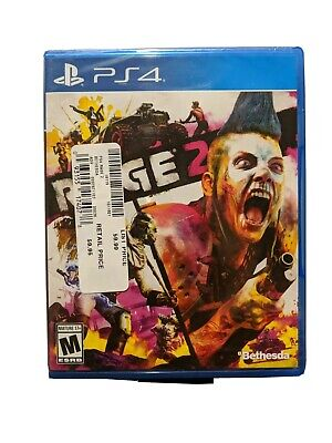 Rage 2 -Standard Edition (Sony PlayStation 4, PS4) - Brand New / Factory Sealed