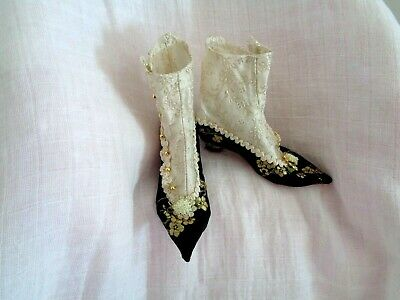 Intricate Handcrafted Dolls Shoes