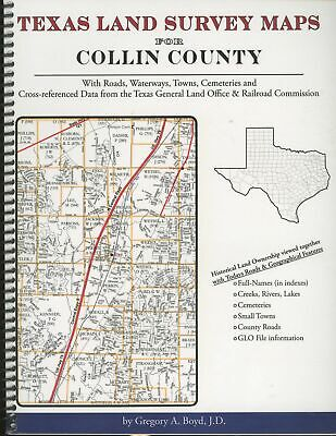 Gregory A Boyd / Texas Land Survey Maps for Collin County Texas with Roads 1st
