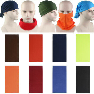 Bandana Face UV Shield Mask Fishing Headwear Biker Neck Tube Scarf Head Cap New