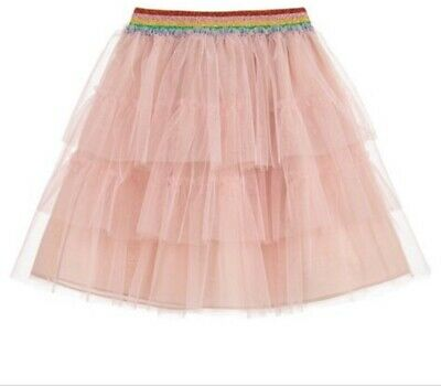Gucci Girls Pink Rainbow Tulle Skirt 12-18 Months