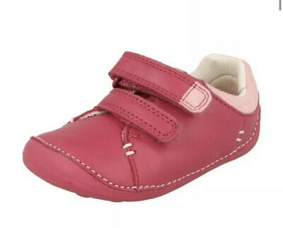 BRS* Toddlers Girls First Shoes By Clarks Casual Shoes Little Hen Uk 3F