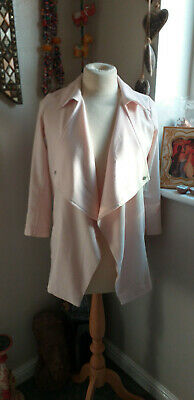 River Island Girls Gorgeous Baby Pink Open Jacket Age 10.