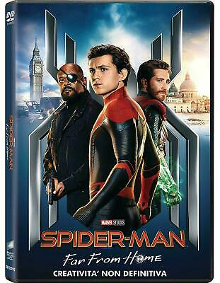 2 DVD nuovi SPIDER MAN - FAR FROM HOME + HOME COMING  vers italiana