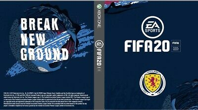 Fifa 20 Scotland Club Cover Xbox One X1 Game Sleeve Outer Case Print Present
