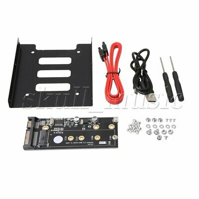 Replacement B Key M.2 NGFF SSD to Sata 2.5 & USB 2.0 Board Adapter Converter