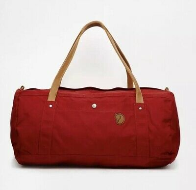 Fjallraven duffle no. 4 large red