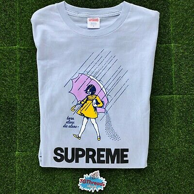 SUPREME MORTON SALT Tee 2010 Size Light Blue Size L - Preowned In