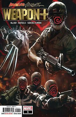 Absolute Carnage Weapon Plus | #1 | MARVEL | 2019  * CLEARANCE SALE*