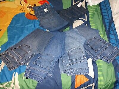 6 Pairs Of Boys Children's Place 7 Husky Denim Jeans