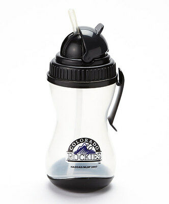 Colorado Rockies Sipper with Belt Clip & Silicone Straw  NWT