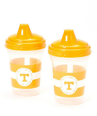 Tennessee Volunteers Spill-Proof Sippy Cup Set NWT