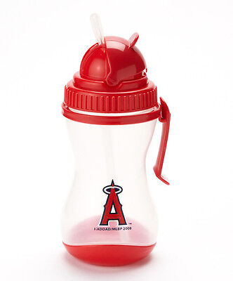Los Angeles Angels Sipper with Belt Clip & Silicone Straw NWT