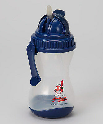 Cleveland Indians Sipper with Belt Clip & Silicone Straw  NWT