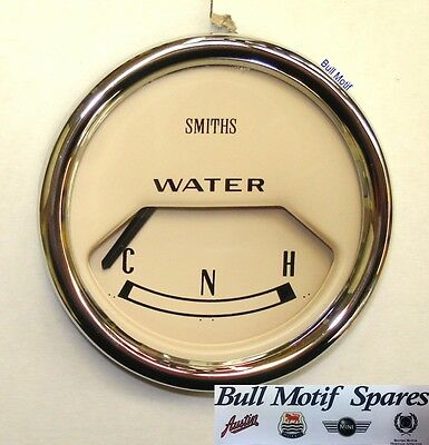 Classic Mini Gauge - Water Temperature Mk2/3 (Magnolia) 13H4460MG