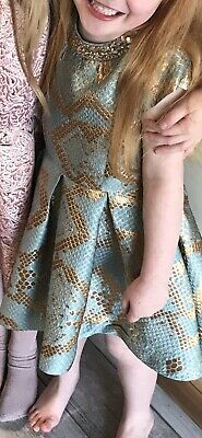 Girls River Island Party Dress Age 5 Years