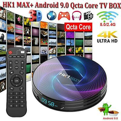 HK1 MAX+ for Android 9.0 Octa Core Smart TV Box Dual Band WiFi HDMI Media Player