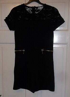 River Island - Girls Gorgeous Black Dress - with Shorts on Bottom - age 9 - 10