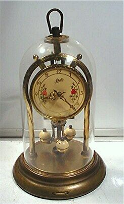 Vintage Schatz -Made In Germany Domed Anniversary Mantle Clock As Found !