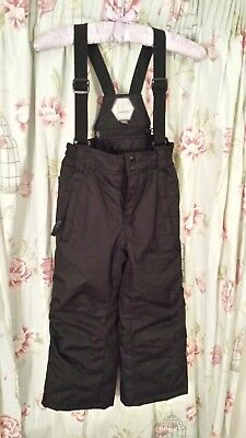 Children's Snow/Ski Dungaree Trousers Snowproof Snowboarding Age 5-6 Excellent