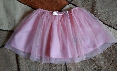 Girls Pink Tulle Skirt, H&M, Size: 4-5 years