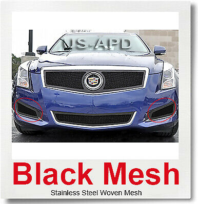For 2013-2014 Cadillac ATS Logo Show Stainless Upper Mesh Grille Insert