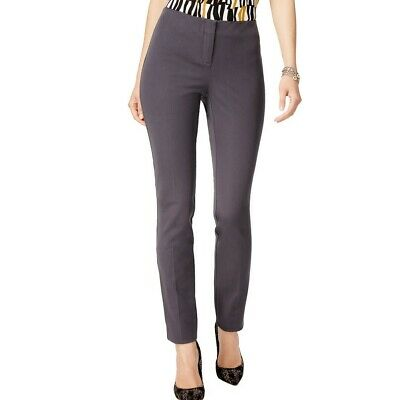 ALFANI NEW Women's Skinny Leg Comfort Waist Dress Pants TEDO